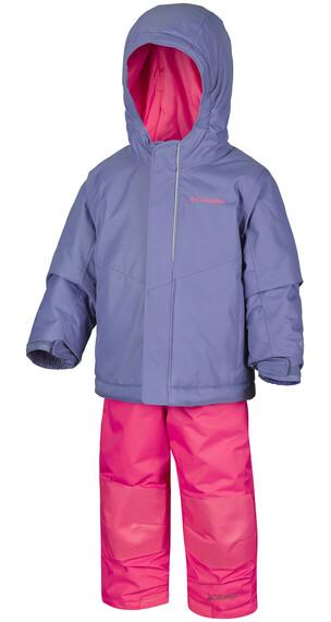 Columbia Buga jumpsuit Kinderen roze/violet